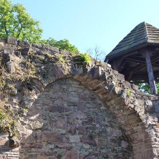 Historische Stadtmauer in Höxter