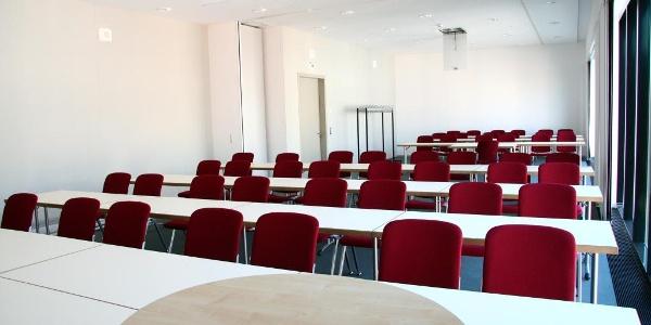 Tagungsbereich der Vogtlandhalle Greiz