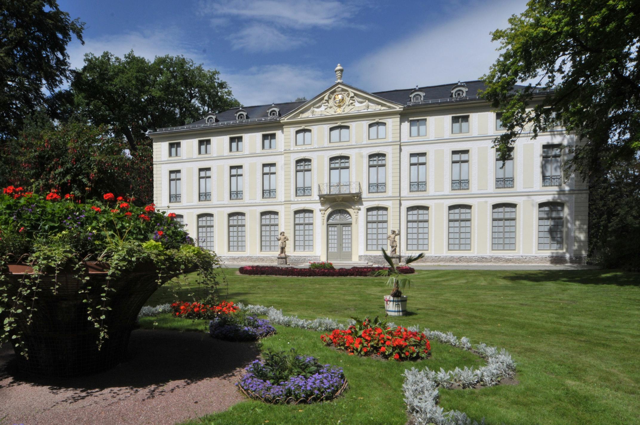 Das Sommerpalais Greiz