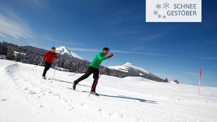 VAL DI FIEMME - Langlauf, Schneeschuhwandern, Tourengehen, auch für Hartgesottene
