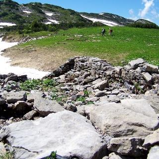 Die verfallene Gottesacker-Alpe