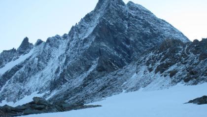 Großglockner von Süden frisch eingeschneit - Stüdlgrat
