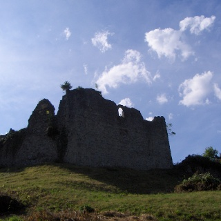 Die Ruine Plainburg.