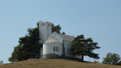 Kirche auf dem Monte Bignone