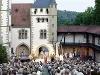 Burg und Bühne der Burgfestspiele Jagsthausen   - © Quelle: Gemeinde Jagsthausen