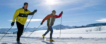 Das Winter-Fitnessprogramm - Langlaufen.