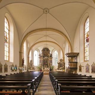 Mariä Himmefahrt Kirche in Bad Driburg - Pömbsen