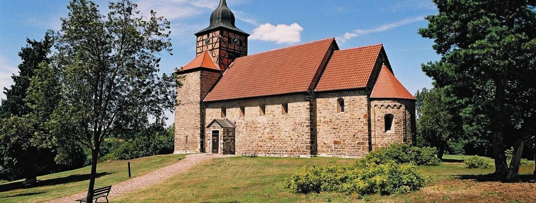 """St. Thomas-Kirche in Pretzien an der """"Straße der Romanik"""""""
