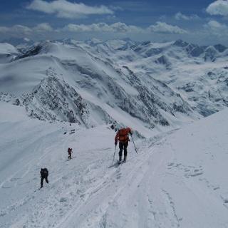 Die letzten Meter vor unserem höchsten Ziel, dem Monte Cevedale