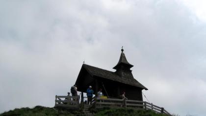Die Kellerjochkapelle am Gipfel