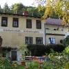 In der Schloßgaststätte Voithenberghütte können wir die Tour zünftig ausklingen lassen.