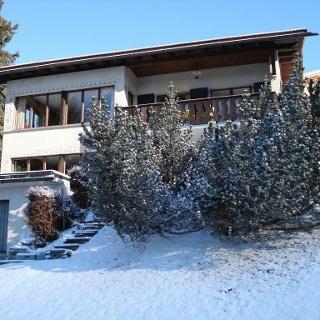 Haus Freya im Winter