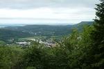 Wir genießen die Aussicht vom Himberg bzw. Hohen Berg.