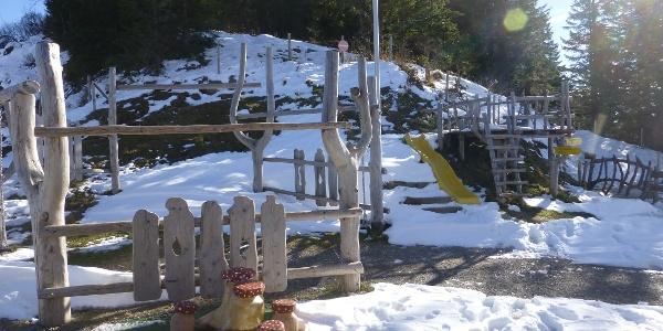 Spielplatz an der Bergstation Taubensteinbahn