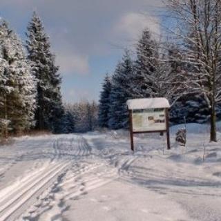 Verbindung Spiegelthaler Loipe - Parkplatz Skilift