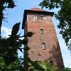 Der Wasserturm nahe der Abtsmühle
