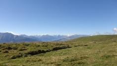 Blick über den Auzfstiegshang nach Süden