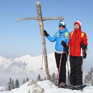 Schneeschuhwandern auf dem Predigtstuhl