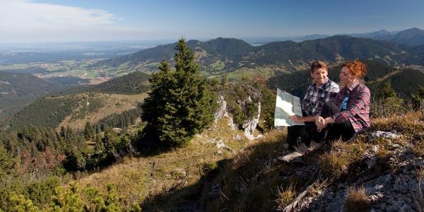 Auf dem Weg zum Pürschling - Hüttenwanderung - Hüttenwoche Ammergauer Alpen
