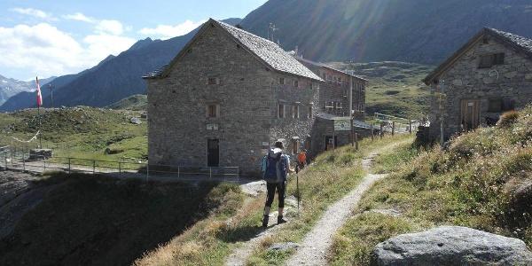 Ankunft an der Essener-Rostocker Hütte