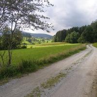 Auf dem Weg von Rohrbach nach March bieten sich schöne Ausblicke.