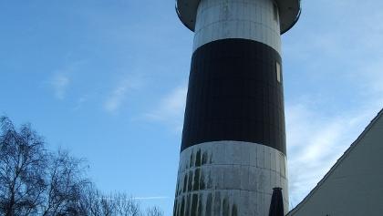 Der Bülker Leuchtturm.