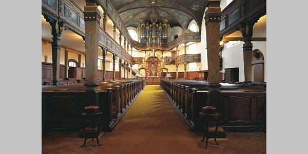 Dreifaltigkeitskirche -Innenraum.