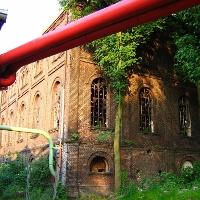 Maschinenhaus in der Künstlerzeche Unser Fritz.