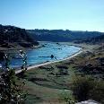 Der Río Miño bei Portomarin.
