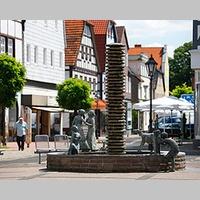 Brunnen auf dem Martkplatz