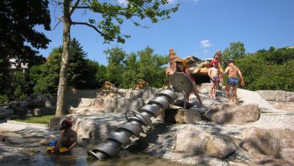 Wasserschnecke im Murggarten in Forbach