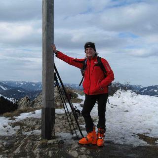 Gipfelkreuz am Unterberg
