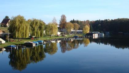Von der Pionierbrücke haben wir einen sehr schönen Blick auf den Templiner Stadtsee.