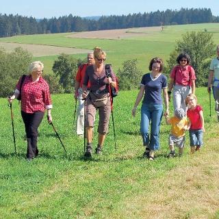 Die Wanderung ist für die gesamte Familie geeignet.