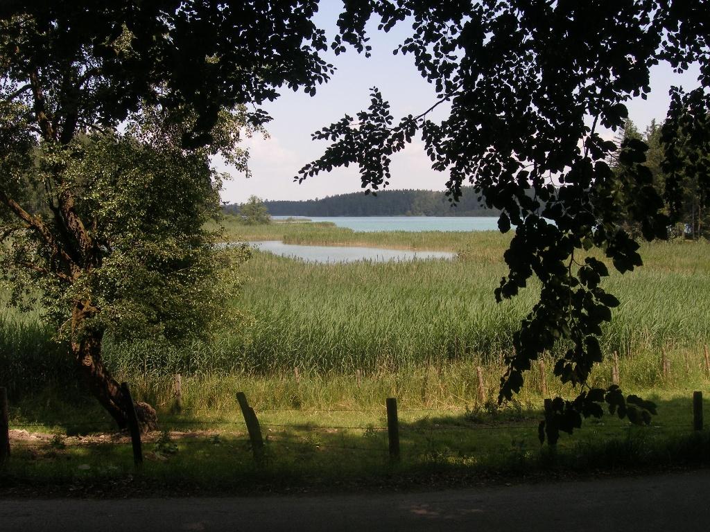 Blick auf den Großen Ostersee.  ()