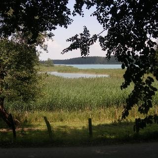 Blick auf den Großen Ostersee.