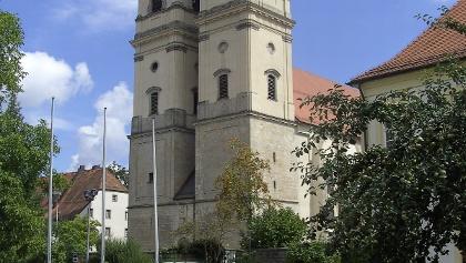Die Klosterkirche Niederalteich.