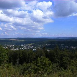 Blick von der Bad Schwalbacher Höhe-