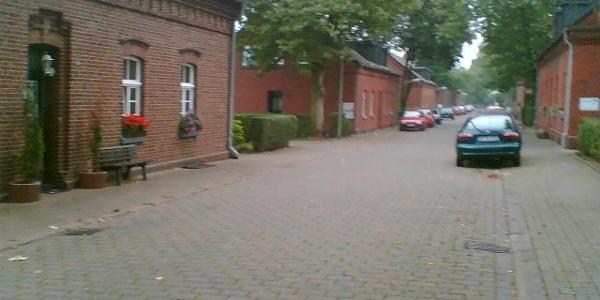 In der Siedlung Eisenheim.