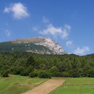 Blick auf den Monte Stivo.