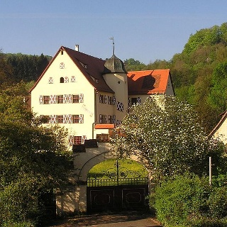 Tetzelschloss in Kirchensittenbach.