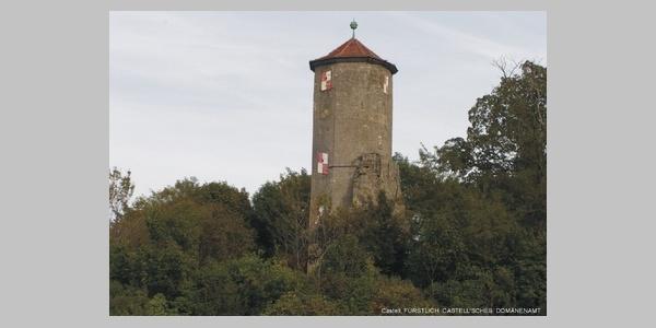 Turm bei Castell.