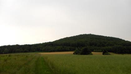 Der Stoppelsberg weist die typische Kuppelform dieser Region auf.