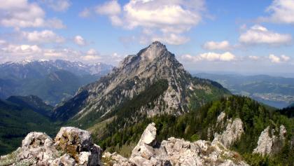 Trapez 1410m mit Traunsteinblick