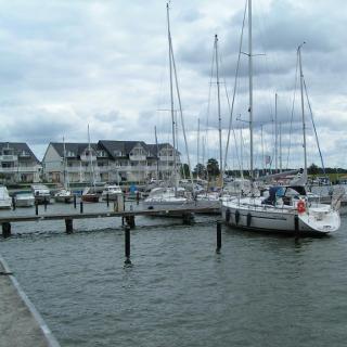 Der Hafen von Karlshagen