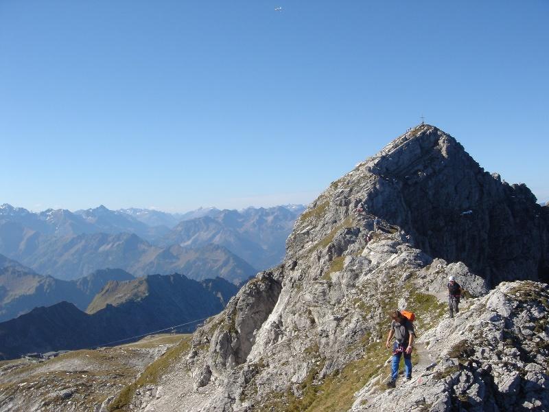 Nebelhorn - Hindelanger Klettersteig - Giebelhaus