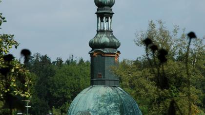 Die Kirche Mariä Verkündigung wurde im 17. Jahrhundert erbaut, als Mariabrunn als Wallfahrtsort entdeckt wurde.