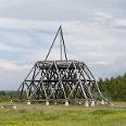 Der Spurwerkturm der Zeche Waltrop.