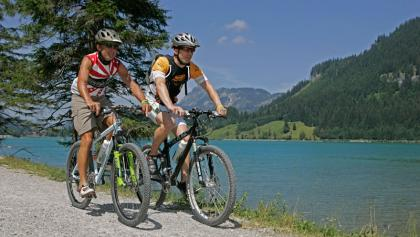 Radfahren im Tannheimer Tal