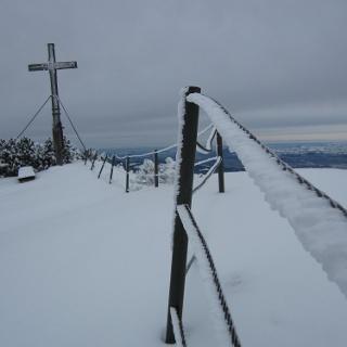 Gipfelkreuz Hochschlegel
